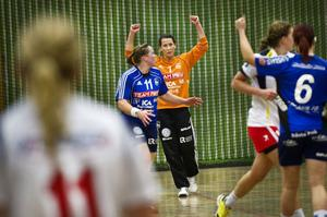 Arbrås målvakt Lina Landin kom in i den andra halvleken och gjorde en kanonmatch.