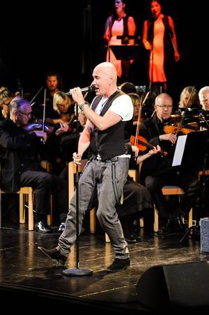 Johan Boding trivdes med Sandvikens Symfoniorkester.
