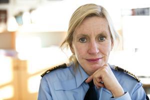 Carin Götblad, regionpolischef för region Mitt, fick inte jobbet som polischef för region Syd på grund av Lena Tysk-affären.