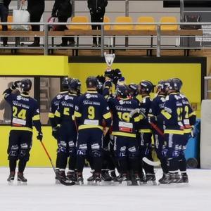 Falu BS kan titulera sig som mästare i den Allsvenska Supercupen.
