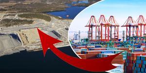 Foto: Stockholms Hamnar (bilden på hamnplanen i Norvik); HPH (bilden på en av Hutchison Ports hamnar)