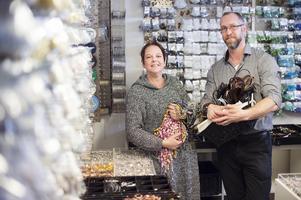 Cathrine och Daniel Forsman beslutade att lägga ned pärlföretag Pagoni som de hade drivit i tretton år.
