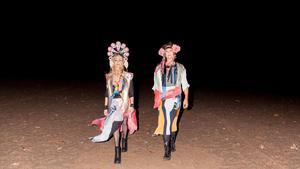 Duon Siri Karlsson medverkar på den sista upplagan av Art's Birthday Party.Foto: Knutan