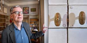 På torsdag klockan 13 öppnas traditionsenligt dörren till ständige sekreterarens rum i Börshuset i Stockholm. Men den här gången är det inte bara en utan två pristagare som offentliggörs. Anders Olsson är ordförande i Nobelpriskommittén.  Arkivbild: Anders Wiklund/TT (bilden är ett montage)