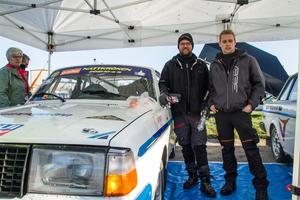 """Bröderna Emil och Oskar Myrland från Kolsva MS var peppade inför start. """"Vi körde ifrån Wisti på Brukssvängen så nu vill han ha revansch"""", säger Emil Myrrland."""