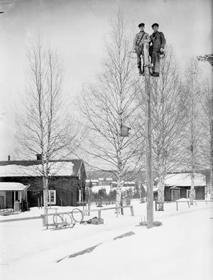 En av Tenn Lars Perssons bilder.  Elfdalen Hembygdsforenings(EHF)/MACK.