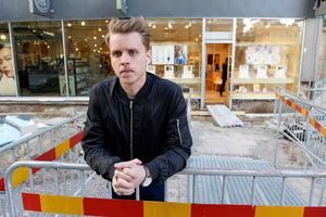 Fastighetsägaren Diös tekniske förvaltare, André Westergren.