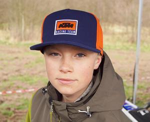 Albin Berglund – tolvårig talang från Hudiksvall.