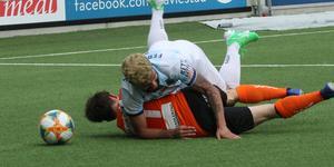Fernandes föll – liksom Gefle IF. Bild: Arkiv