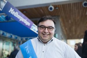 Eduardo Morris är tjänsteperson på kultur- och fritidskontoret.