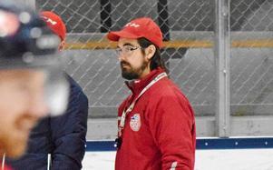 Fredrik Lundell, tränare för Falu IF.