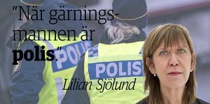 Bakgrundsbilden har inget med texten att göra utan är hämtad från TTbild, poliser i tjänst vid en trafikolycka.