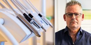 Mats Kvarnberg, verksamhetschef på Smile tandvård i Västerås.