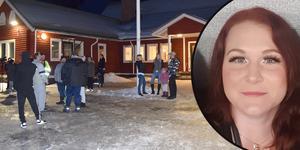 Mona Markl och många med henne kämpar för att Idkerbergets skola ska få vara kvar.