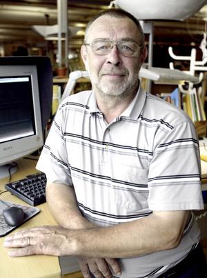 Olle Stenberg blev 76 år. Foto: VLT:s arkiv