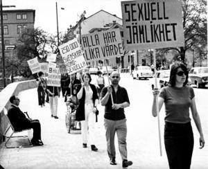 För 50 år sedan, den 15 maj 1971, genomfördes Sveriges första pridemarsch i Örebro.