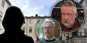 Anders Lindstrand, utredningschef på försäkringsbolaget IF, och kriminologen Leif GW Persson (till höger i bild) är kritiska till polisens långsamma agerande i fallet. Foto: Mittmedia, TV4