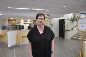 Åsa Bellander försvarar sig mot den delen av utredningen som  kritiserar visselblåsarfunktionen i Sundsvall.
