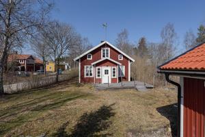 Fritidshuset Åsen 31, By kyrkby i  Avesta kommun, kom på femte plats på Klicktoppen för Dalarnas del vecka 16. Foto: Emelie Wahlund