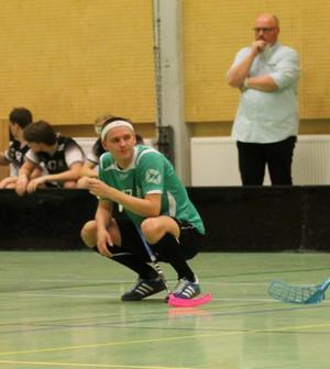 Marcus Berg har gjort 30 poäng på åtta matcher den här säsongen och toppar poängligan i division 3. Foto: Privat