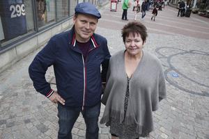 Carita Holmgren och Johnny Karlsson siktar på att bli invalda i nya fullmäktige. I så fall blir deras huvudfokus att driva på för att Ludvika kommuns skolor ska vara bland de bästa i landet 2022.