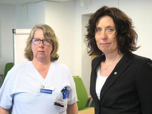 Johan Hanssons död är en stor förlust för Region Gävleborg, konstaterar Kerstin Teljing, vårdenhetschef, och Helena Björkman, biträdande hälso- och sjukvårdsdirektör.