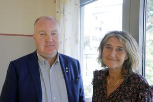 Nu ska rätten till heltidsarbete införas senast i slutet av 2020, förklarar nämndordförande Mathz Eriksson (C) och förvaltningschef Madde Gustavsson.