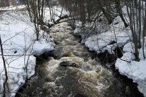 I bland annat Sidsjöbäcken väntas flödet öka rejält nu de kommande dagarna.