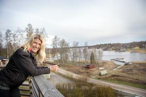 Ulrica Andersson gillar att träna och hålla sig i form, just nu hjälper hon till att renovera huset så mycket hon kan.