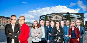 Statsminister Stefan Löfven och alla andra partiledare intervjuas av Klas Leffler och Robban Andersson under våren.