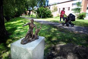 Badhusparken i dag. Bild: Anders Nordlén