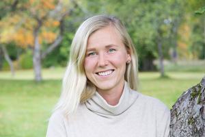 Linn Danielsson är utbildad som massageterapeut och inom kostrådgivning.