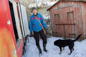 Torbjörn Eriksson följde med mannen över till Eckeröterminalen då han hörde att han pratade åländska.