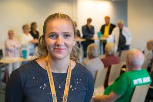 Josefine Schützer, valutvecklare vid Södertälje kommun.