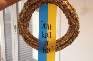 Ett sanningens ord, designat av Lotta-Maja Öhman.