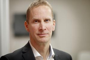 Tomas Stavbom, Stockholm Handelskammares regionchef för Uppsala.