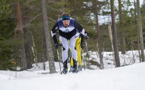 Marti Birgersson, Axa Sports Club, hade blicken framåt.