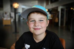 Wiking Kjellson,  10 år, Älvdalen.