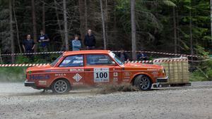 Totaltvåan Arne Rådström, Volvo 242.