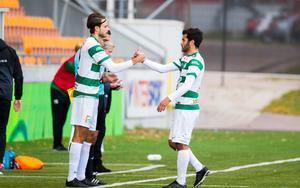 Emir Smajic gjorde mål med sin första touch i matchen.