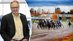 Anders Jonsson, ordförande för Dalarnas Travsällskap. Bilden är ett montage. Ekipagen på bilden har inget med händelsen att göra.