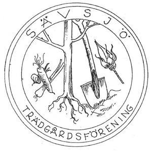 Sävsjö Trädgårdsförenings logga - den hoppas vi få se mycket av framöver!