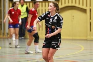 Anna Jakobsson har ett förflutet som tidigare spelare i Strand.