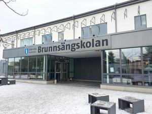 En lärare blev misshandlad på Brunnsängskolan av en av skolans elever.