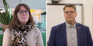Oppositionsråd Ulrika Spårebo (S) och kommunalråd Anders Wigelsbo (C) valde att lägga ned stridsyxan. Insändarskribenten Eric Thorsell menar att freden inte varat särskilt länge.