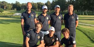 I somras var Jonas Wallmo med i laget som spelade upp Roslagens GK till division 1.