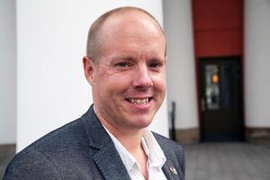Andreas Sjölander, kommunalråd i Härnösand (S).