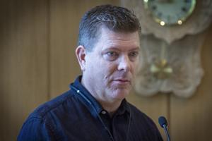 Patrik Uhras, projektledare för Bollnäs nya resecentrum.