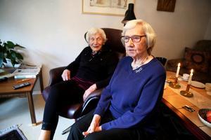 May Halén och Naemi Björkman träffades på barnhemmet Sparvboet. I dag bor båda två på Skallbergets servicehus.