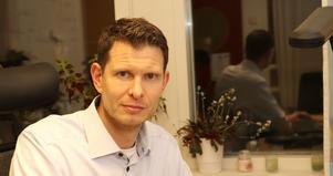 Daniel JOhansson Falk är nöjd med responsen, när kommunen sökt ny kultur- och fritidsdirektör. - Vi har fått många sökande.